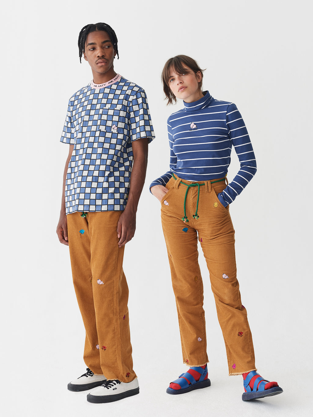 Lazy Oaf x Mr. Men Cord Pants