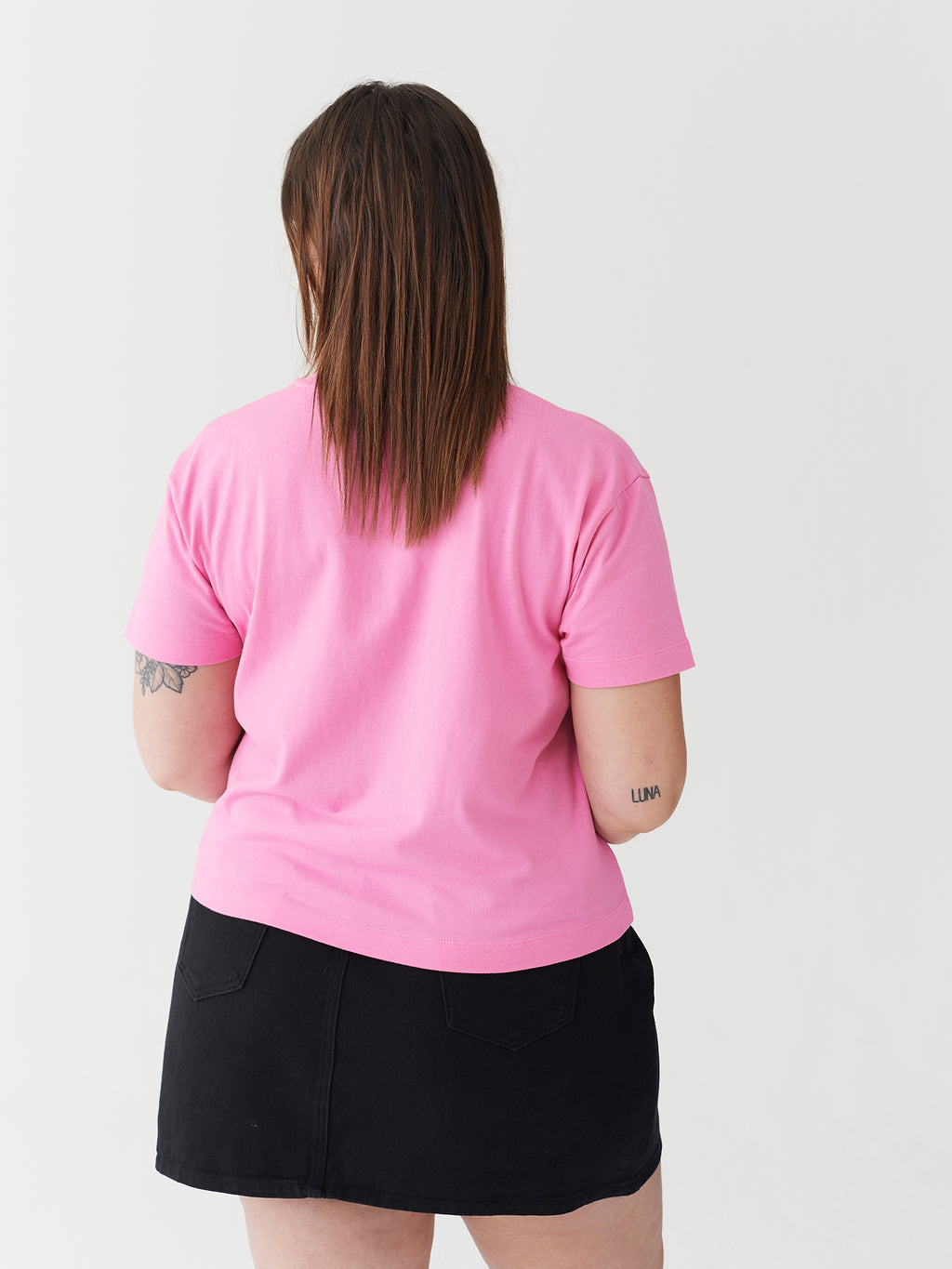 Lazy Oaf Naked Lady Fitted T-Shirt