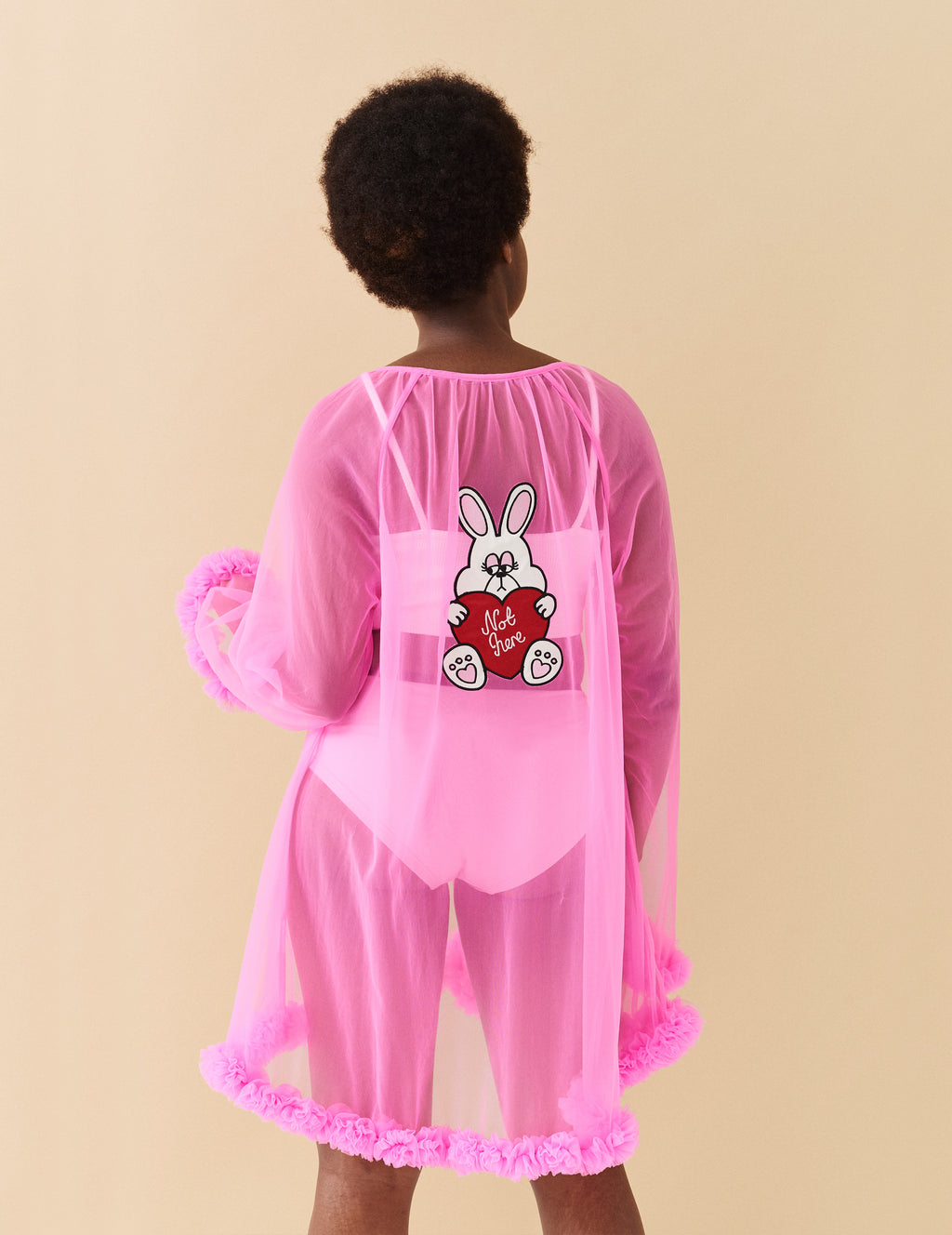 Lazy Oaf Not Here Baby Doll Robe