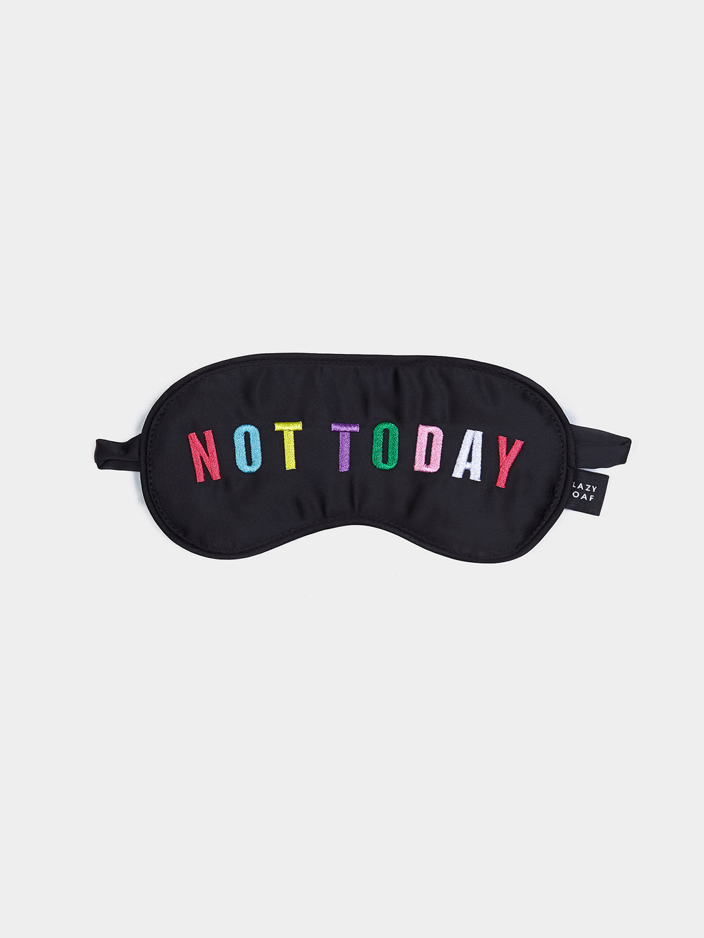 Lazy Oaf Not Today Eye Mask