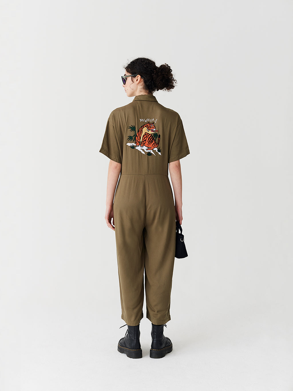Lazy Oaf Nowhere Tiger Jumpsuit