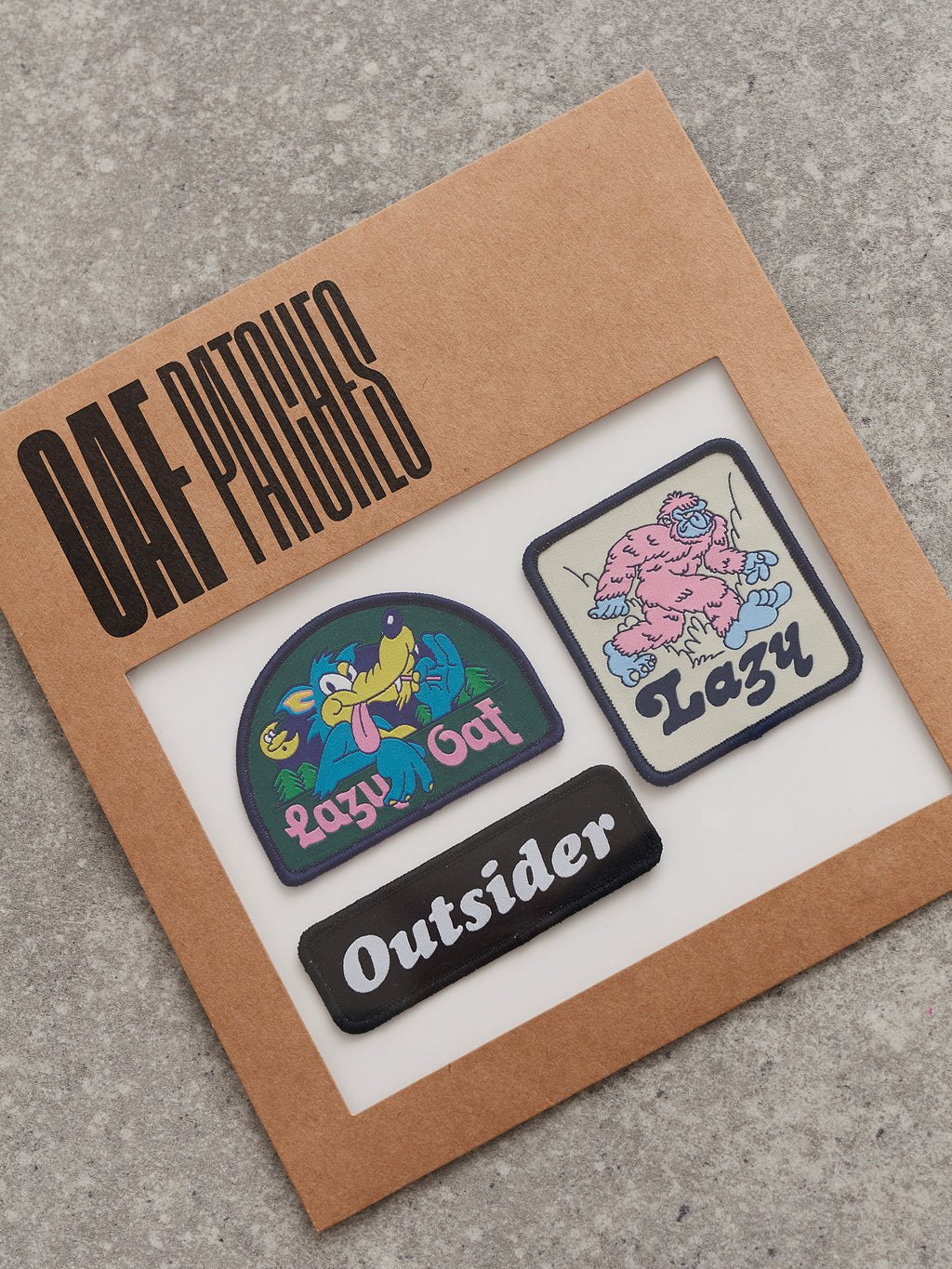 Lazy Oaf Holiday Sew On Patch Pack