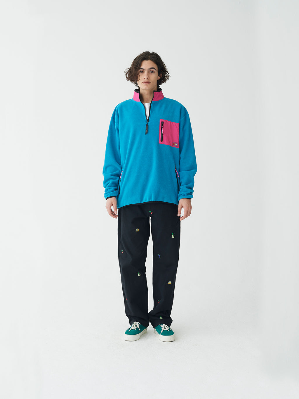 Lazy Oaf Oaf Zip Polar Fleece
