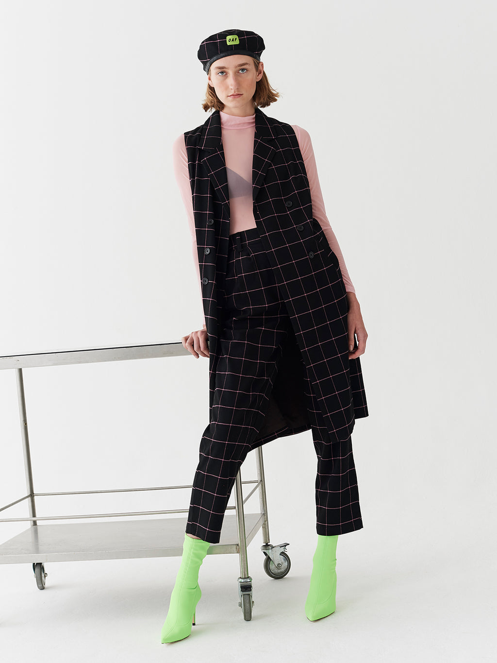Lazy Oaf On The Net Sleeveless Dress / Jacket