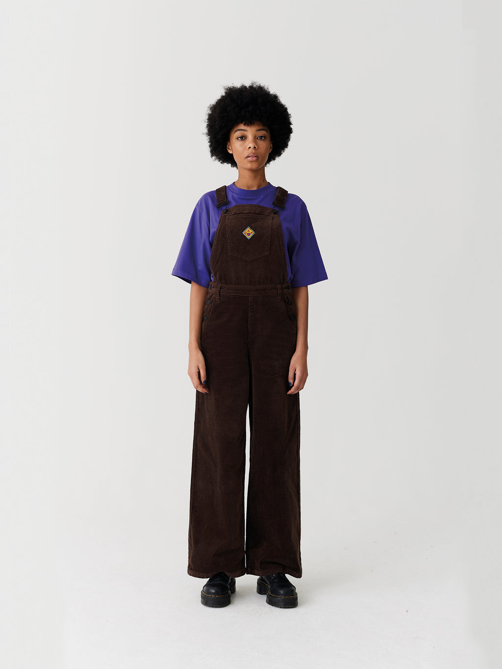 new design super service lovely luster Lazy Oaf Patch It Up Dungarees