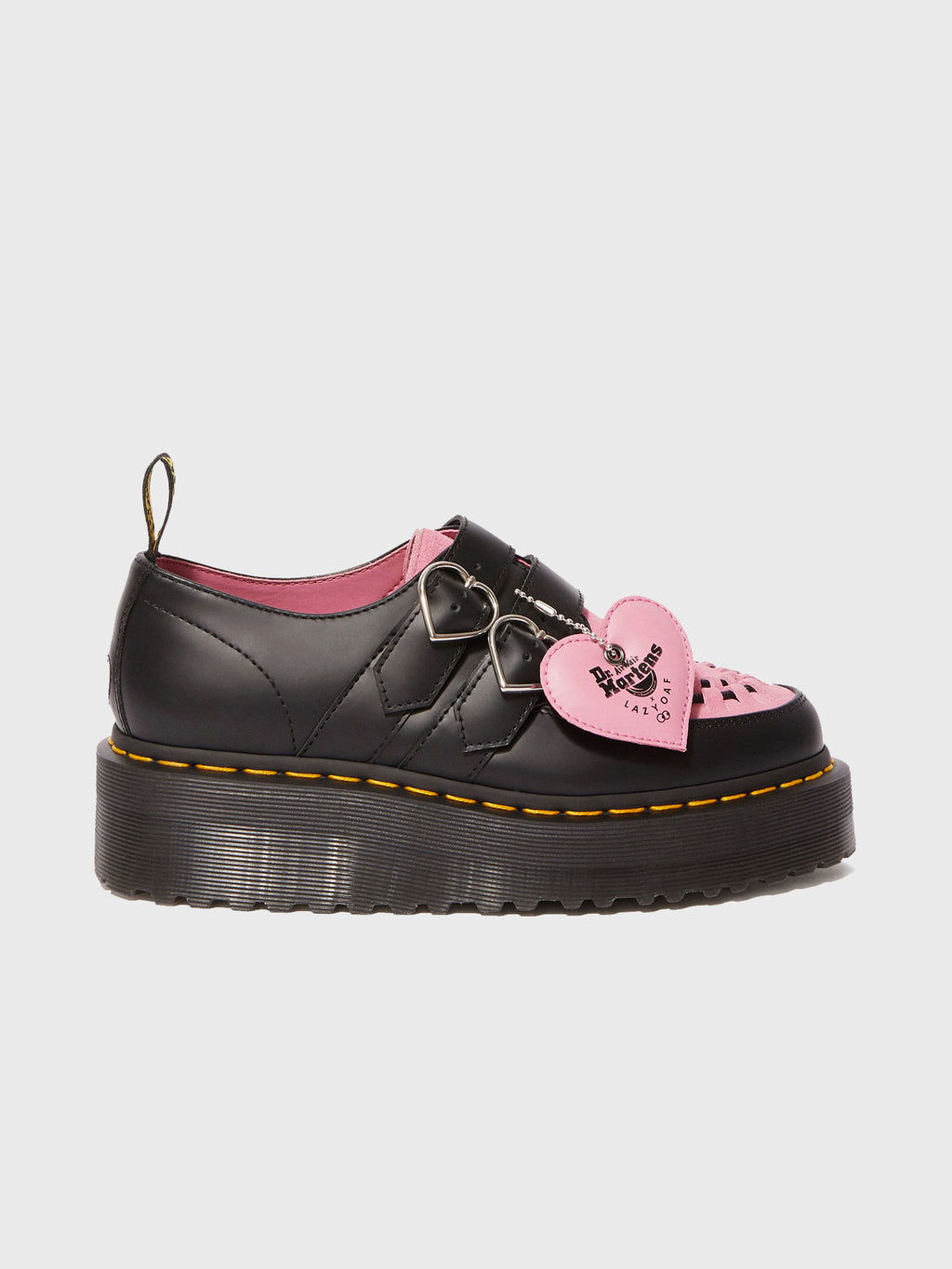 a461d62a3dc Dr. Martens x Lazy Oaf Rose Buckle Creeper