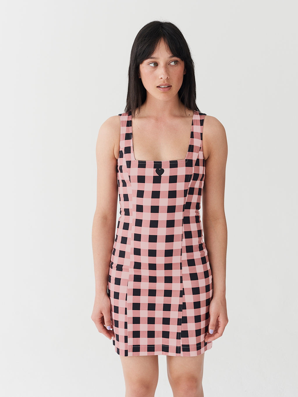 Lazy Oaf Pink Gingham Dress