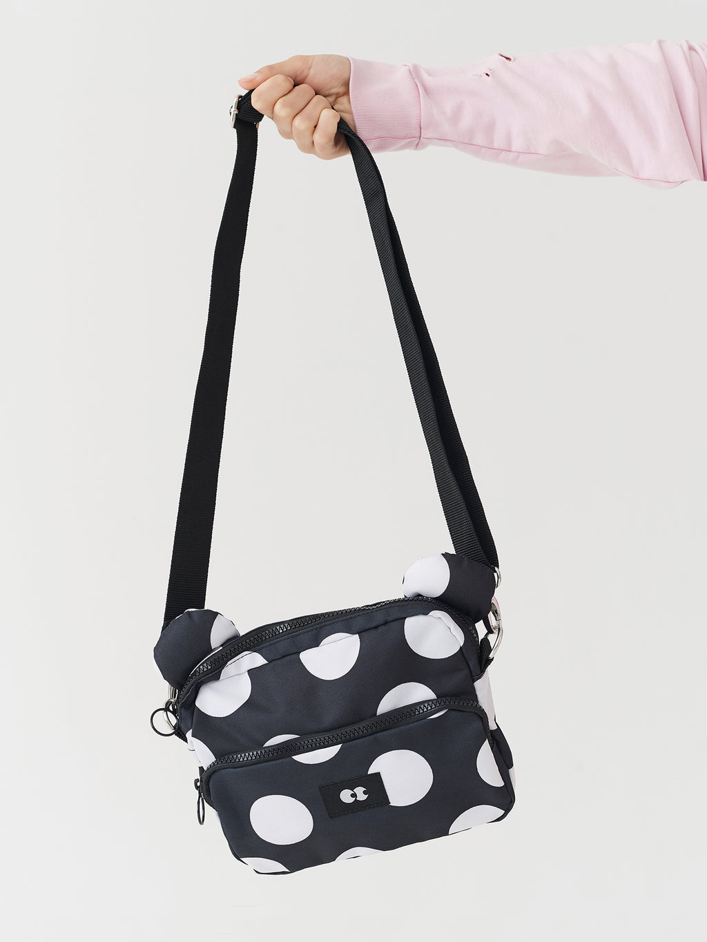 Lazy Oaf Polka Dot Bear Bag
