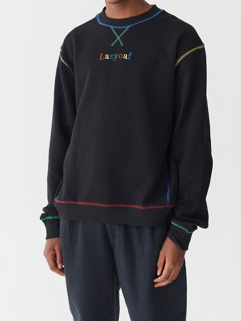 Lazy Oaf Primary Stitch Sweatshirt