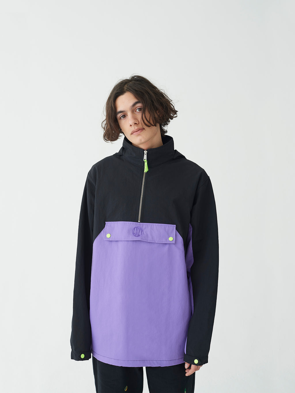 Lazy Oaf Quarter Zip Jacket