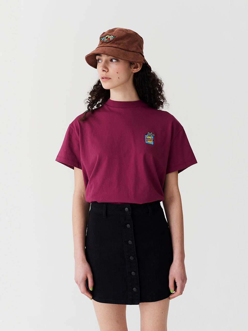 Lazy Oaf Rat Bag Oversized T-Shirt