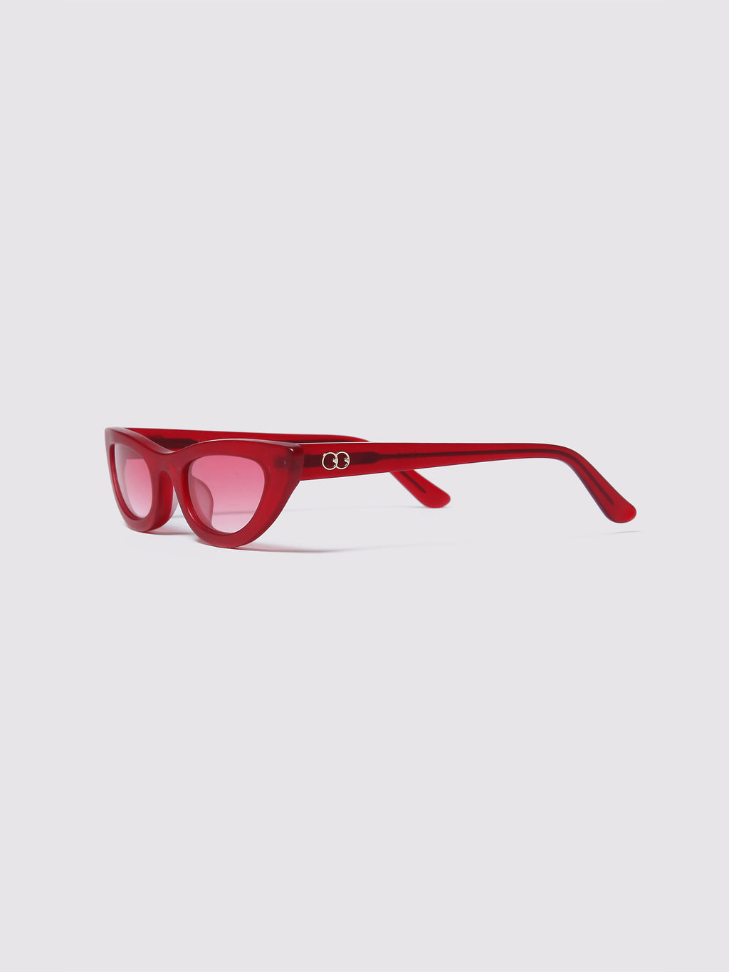 Lazy Oaf Red Who Me Sunglasses