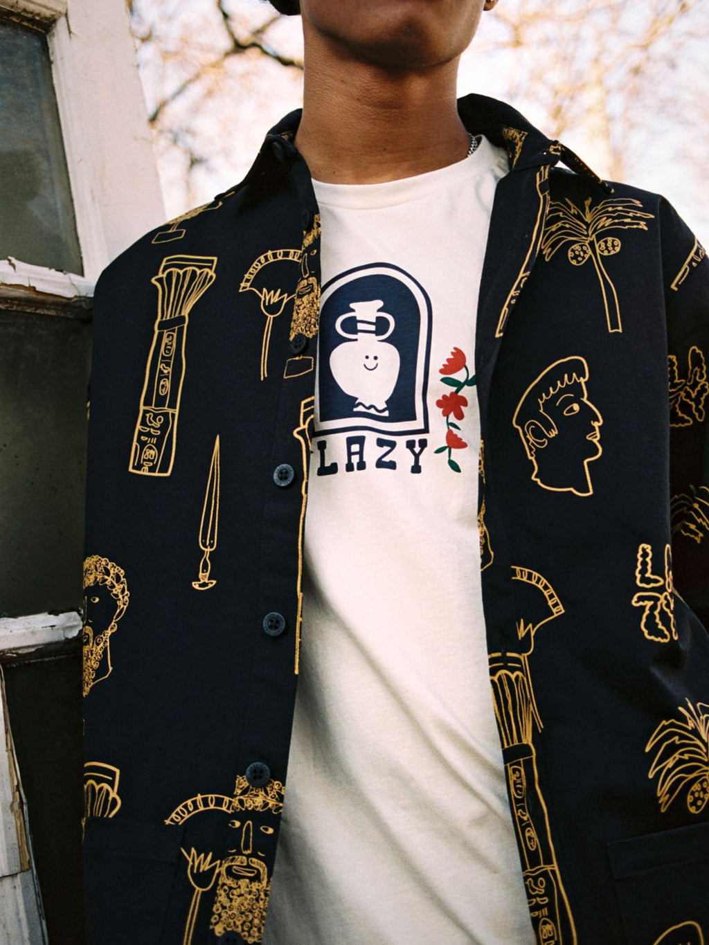Lazy Oaf Roman Holiday Shacket