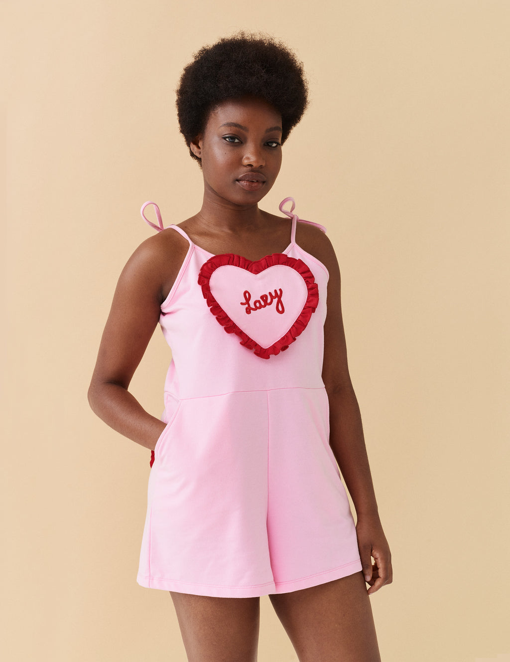 Lazy Oaf Stole My Heart Romper