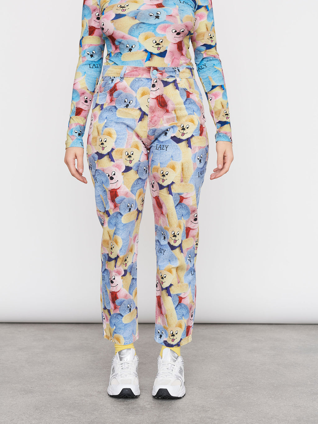 Lazy Oaf Beary Nice Mom Jeans