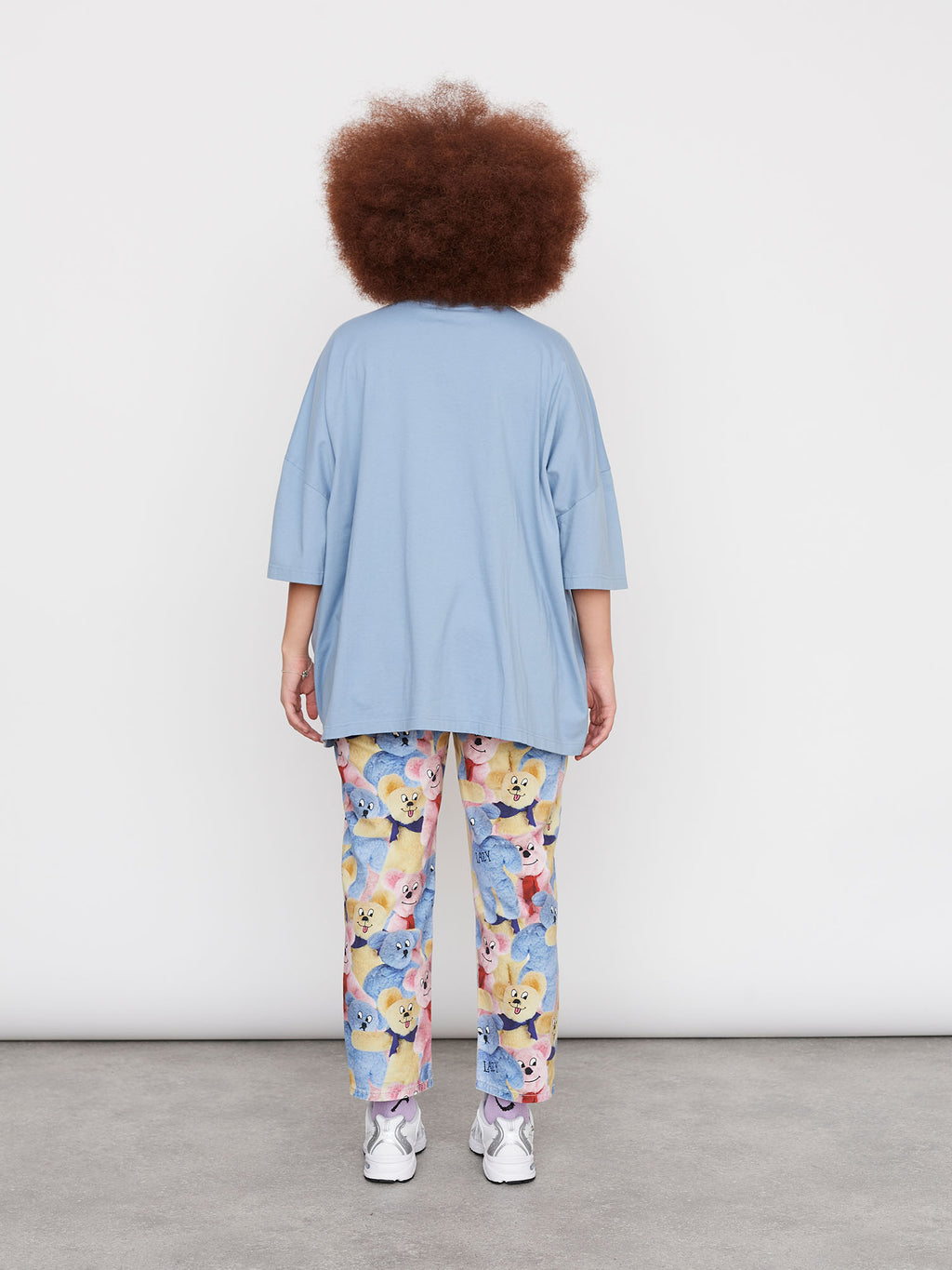 Lazy Oaf Once And Floral Big Square T-Shirt
