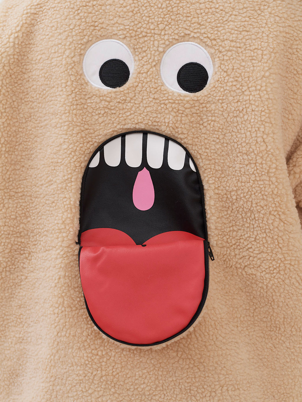 Lazy Oaf Shut Your Mouth Fleece Jacket