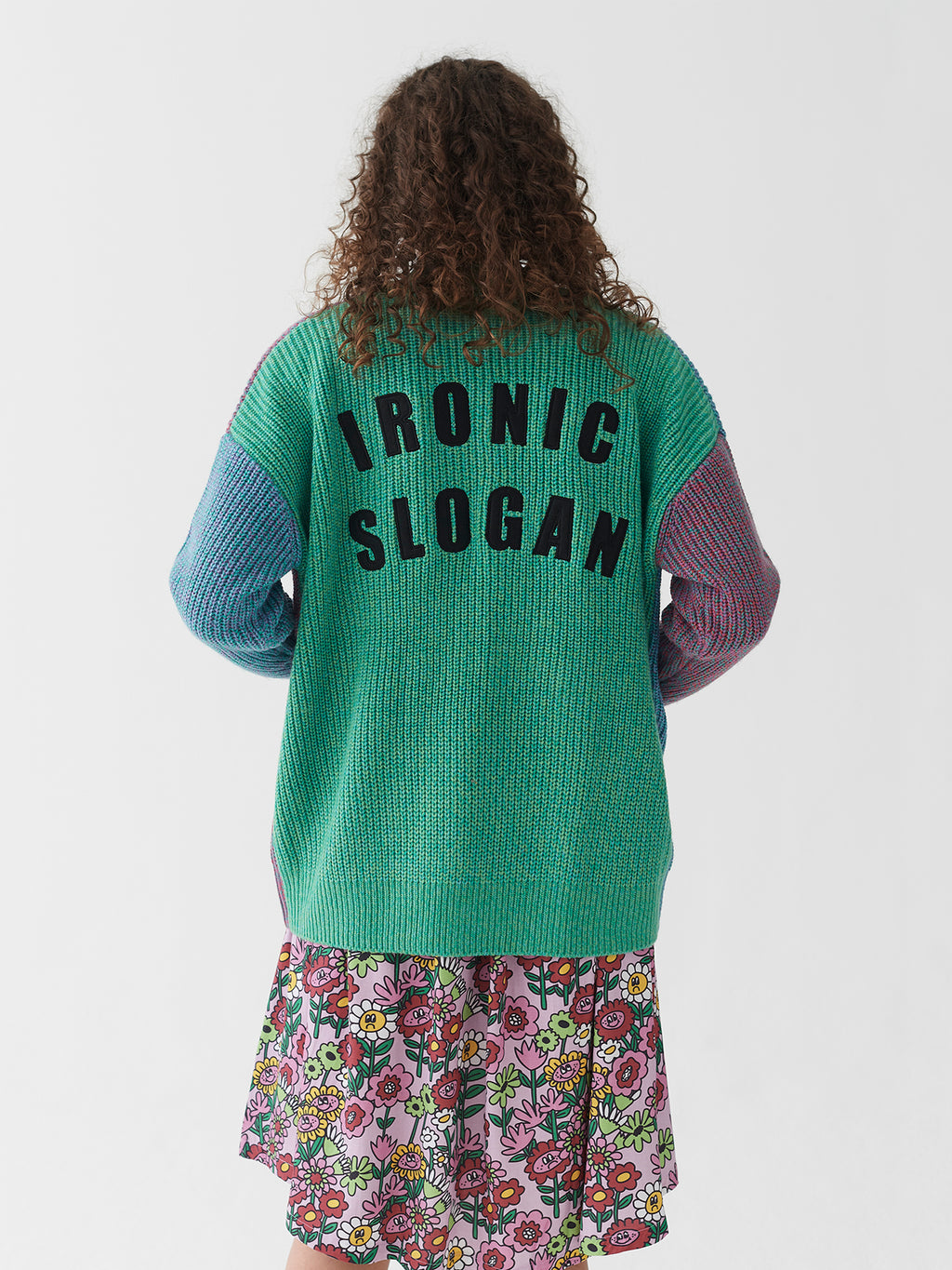 Lazy Oaf Sick & Twisted Yarn Cardigan