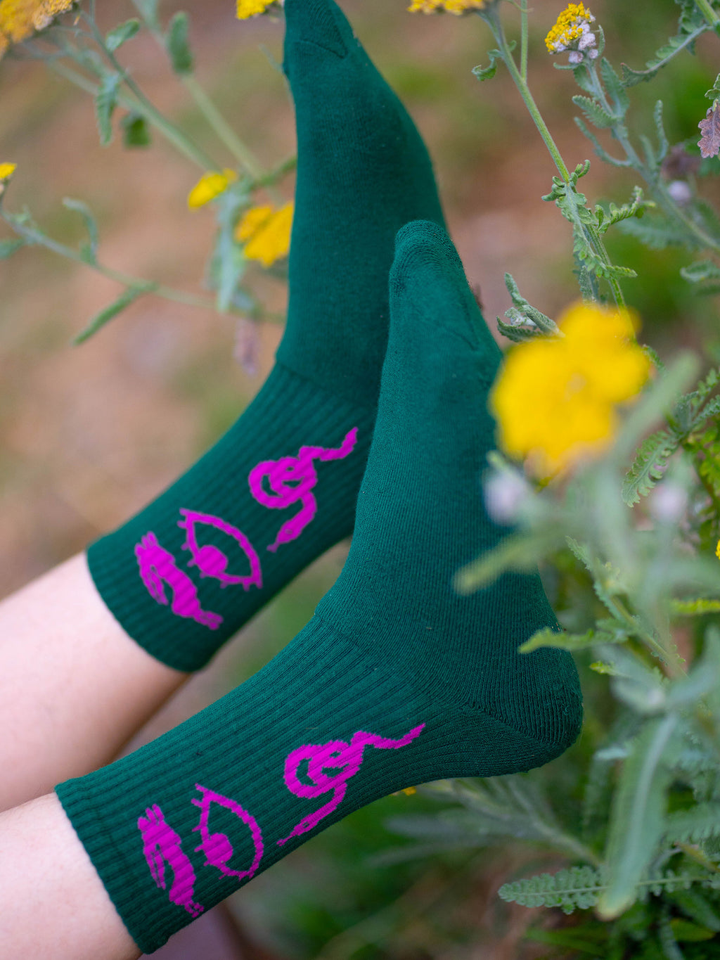 LO x Laura Callaghan Totally Symbolic Socks