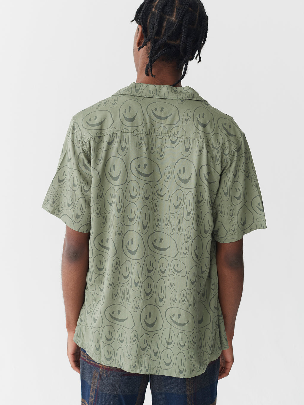 Lazy Oaf Squish Face Bowling Shirt