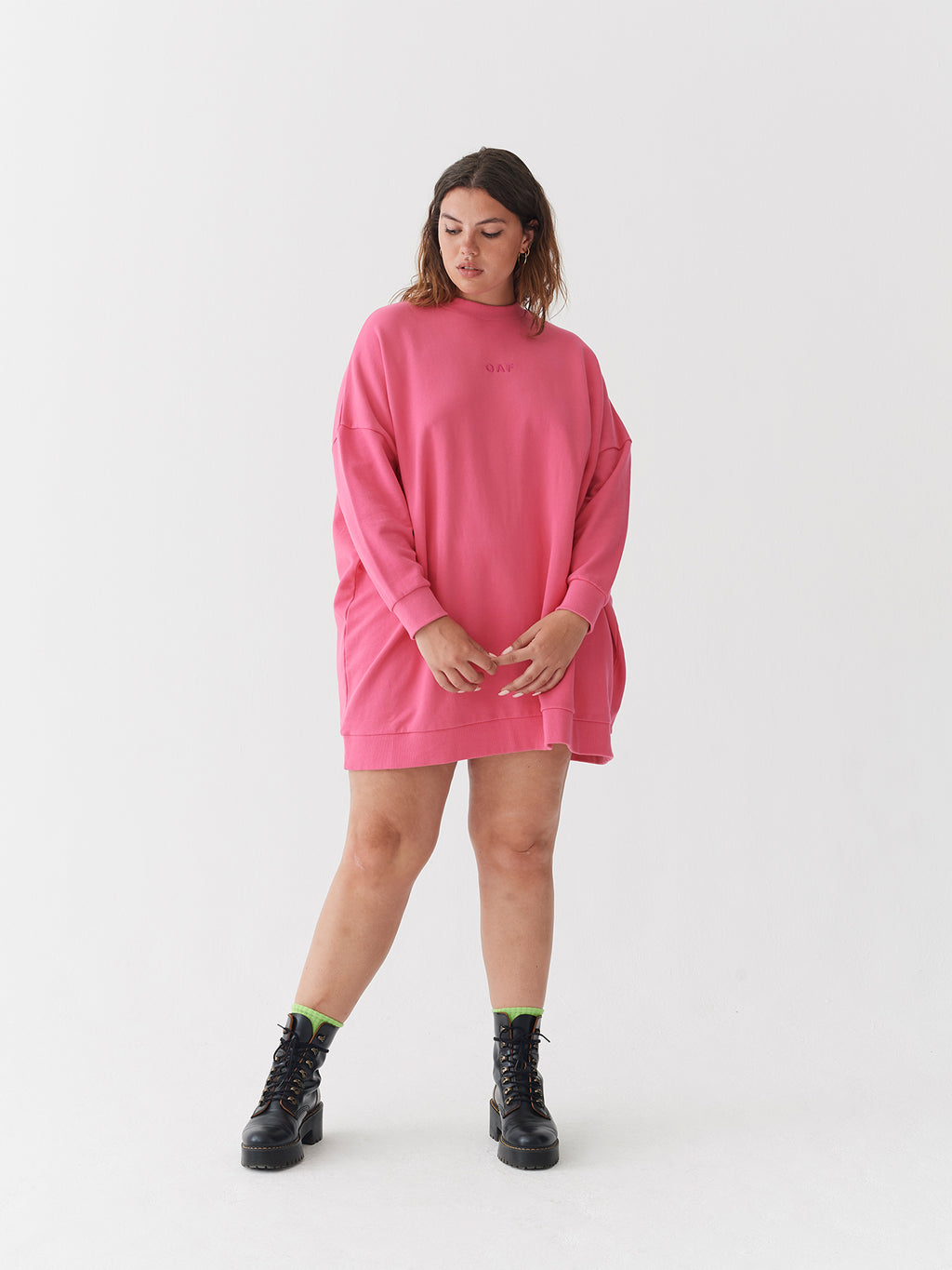 Lazy Oaf Supersized Oaf Sweater Dress