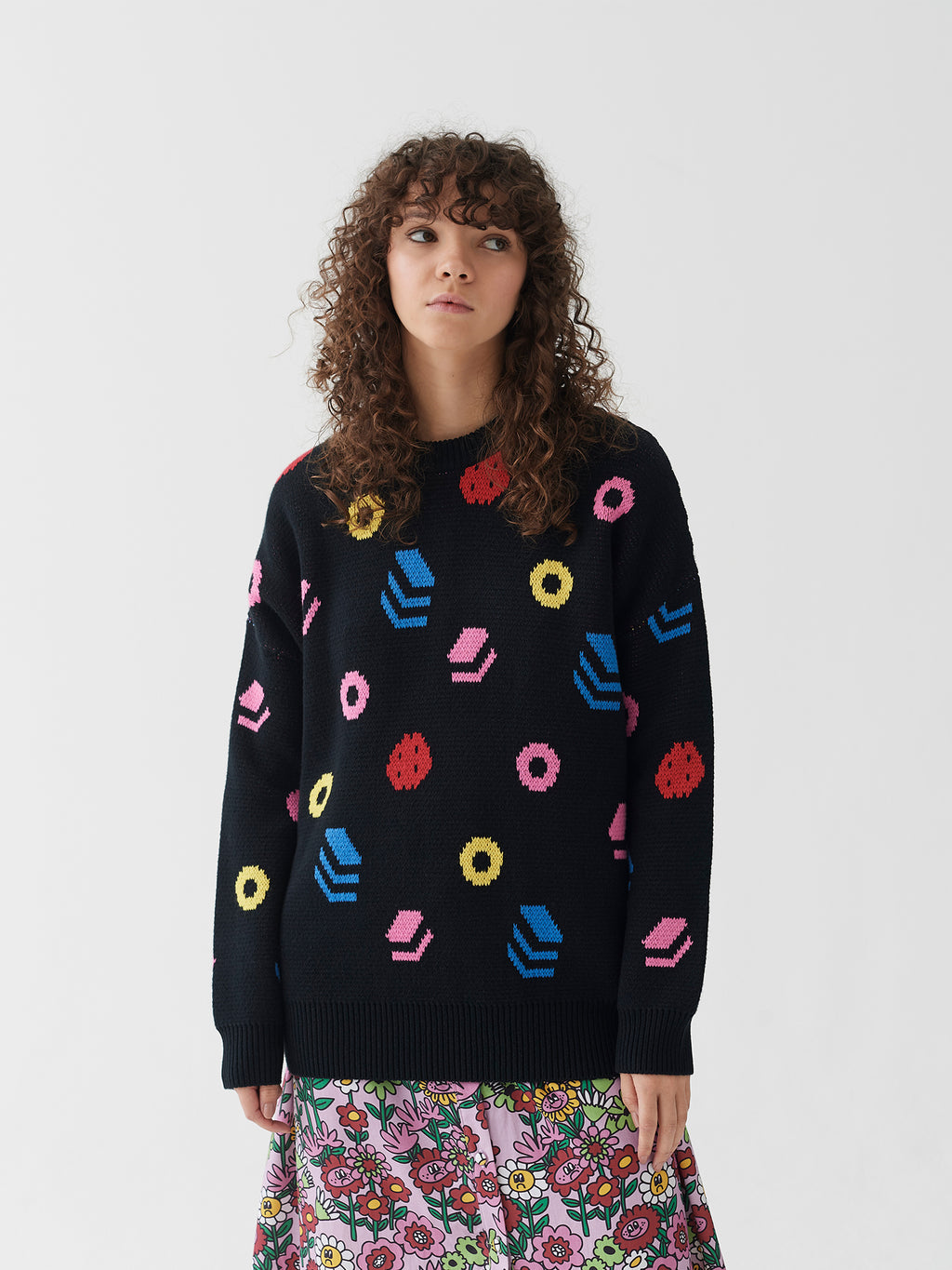 Lazy Oaf Takes All Sorts Jumper