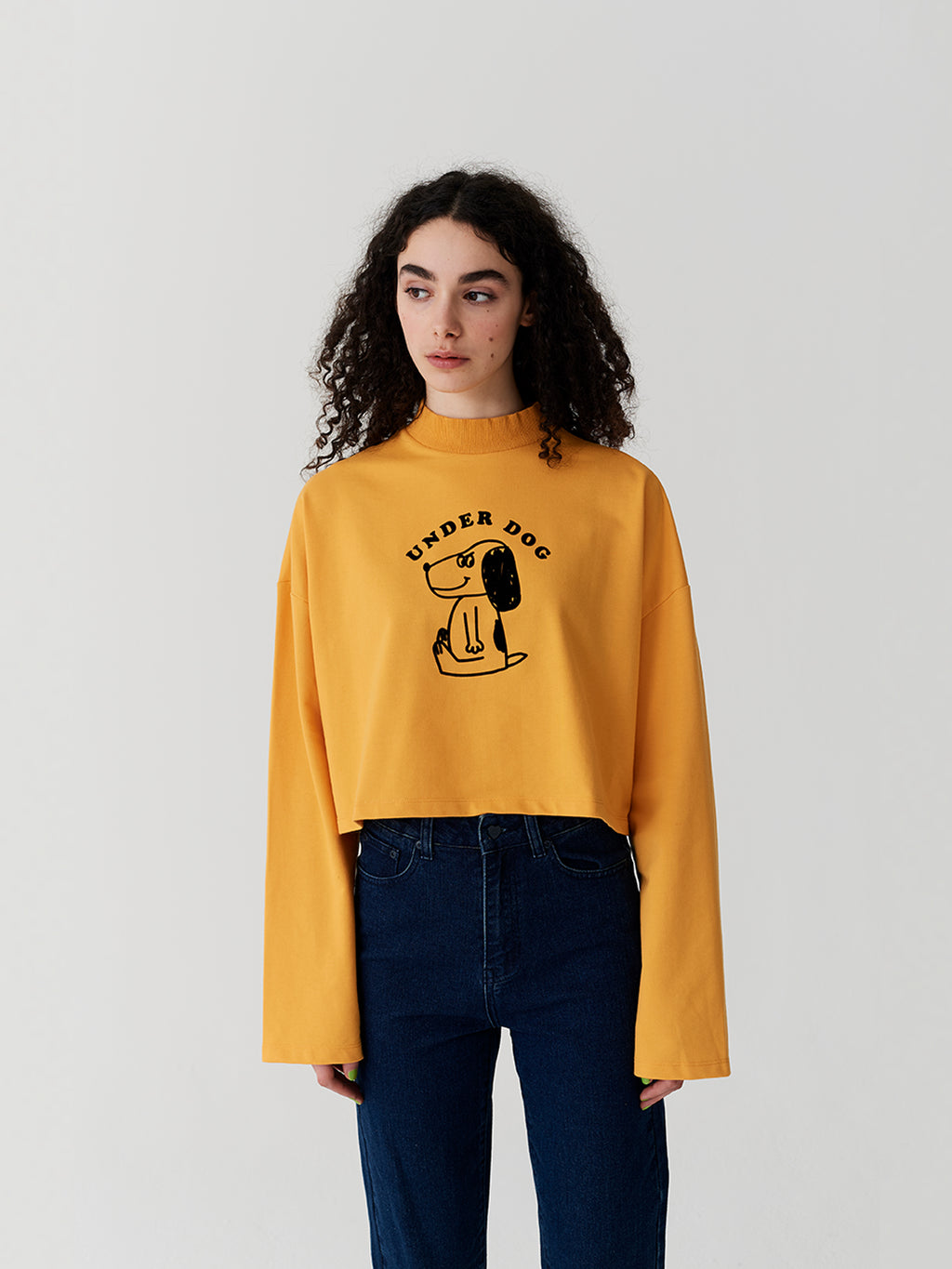 Lazy Oaf Underdog Long Sleeve Top