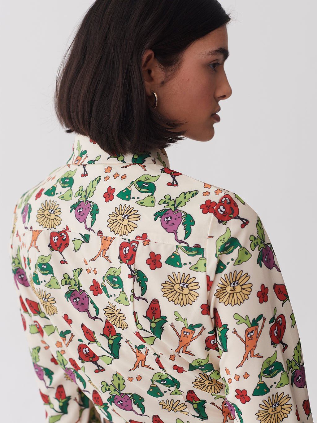 Lazy Oaf Vegetable Patch Fitted Shirt