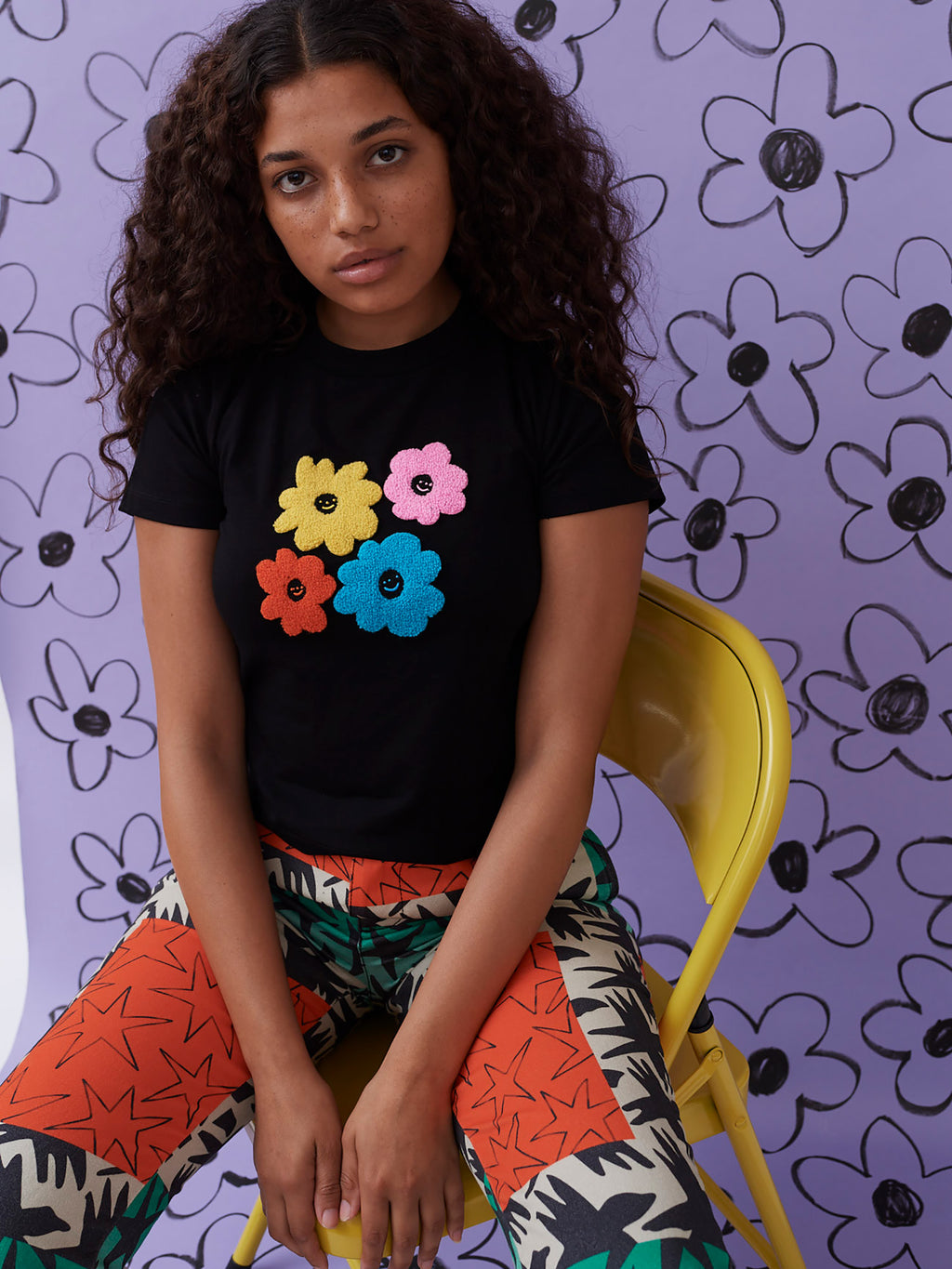 Lazy Oaf x Wednesday Holmes Fitted Tee