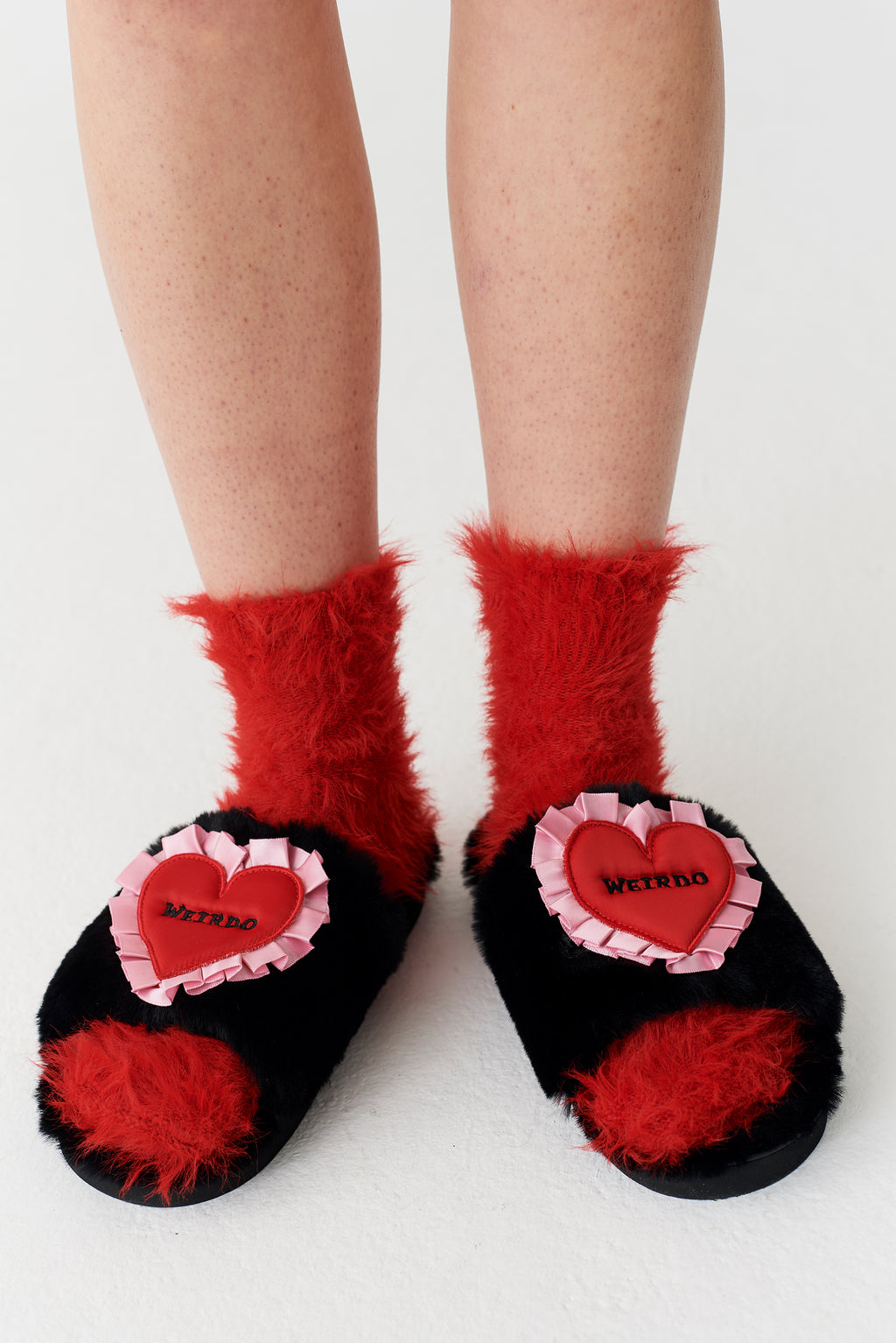 Lazy Oaf Weirdo Slippers