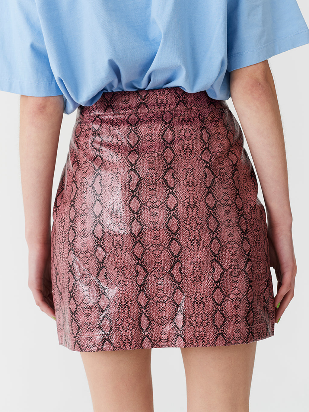 Lazy Oaf Zippy Snake Skirt