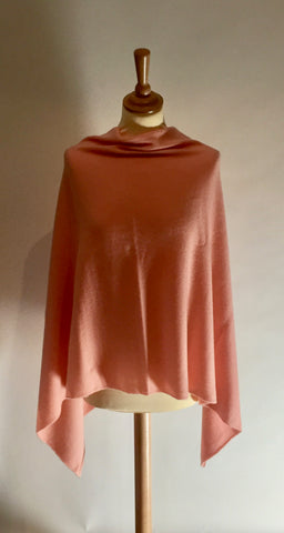 Cocowai Cashmere V neck Mid Length Cape - was £225.00 now £125.00