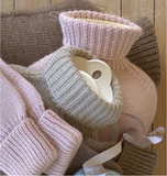 Samantha Holmes Knitted Alpaca Luxury Hot Water Bottle