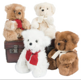 Samantha Holmes Teddy Bear & Maltese Dog Teddy Bear - SALE- was £93.50 now £50.00