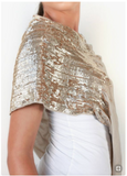 Lincoln & Lennox Sequin detail Pashmina Wrap - RRP £180.0 now £90.00