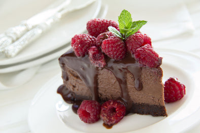 Irish Creamy Chocolate Cheesecake