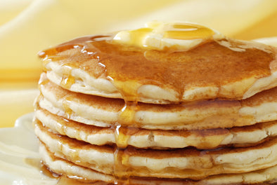 Sweet & Buttery Pancakes