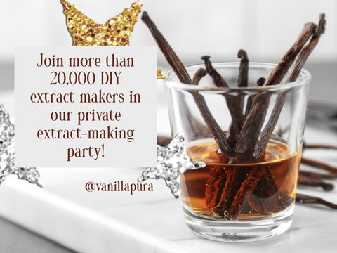 Join our extract making party