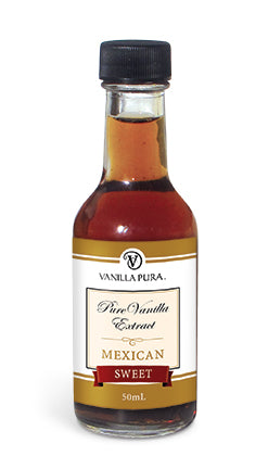 Mexican Sweet, Light & Crisp Vanilla Bean Extract