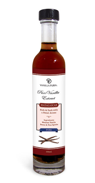 Vintage - Madagascar Clean, Pure & Distilled Vanilla Bean Extract
