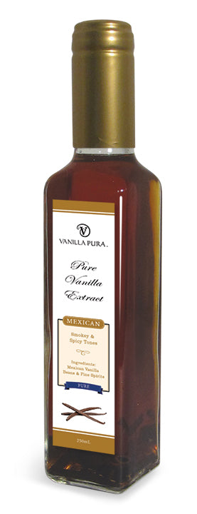 Vintage - Mexican Clean, Pure & Distilled Vanilla Bean Extract