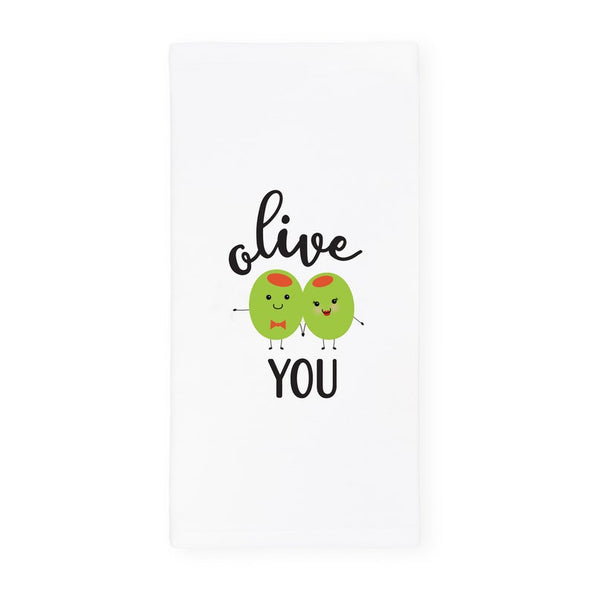 Dish Towel - Olive You