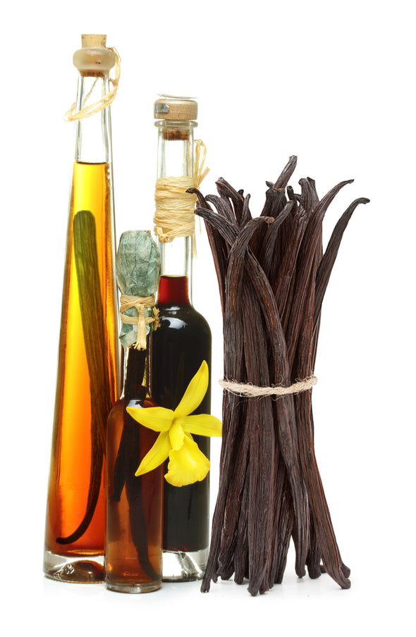 Tahiti Vanilla Beans - Grade B, Best for Extracts