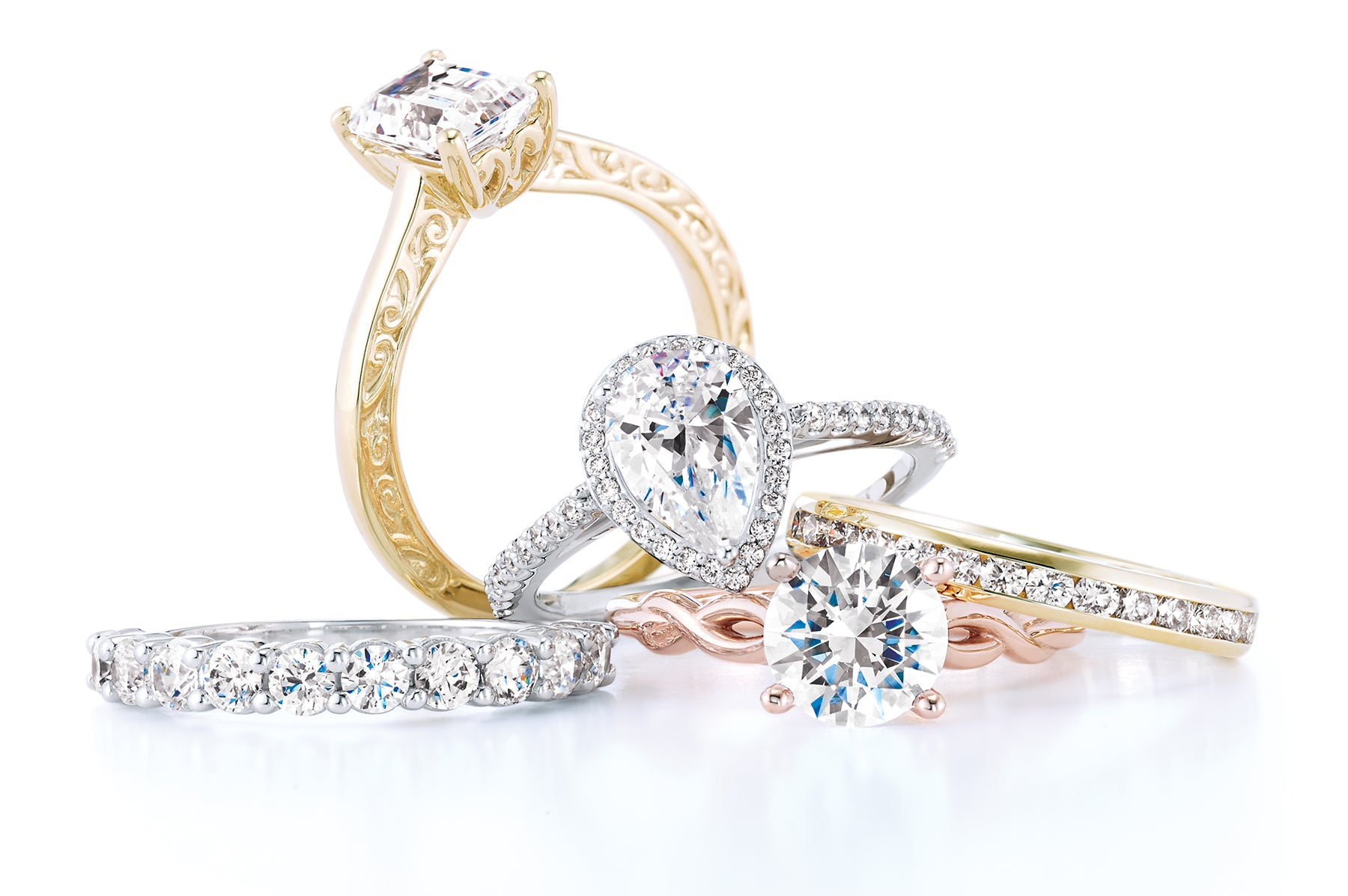 Soha Diamond Co. engagement rings
