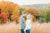 Fall engagement photos at pope farm conservancy
