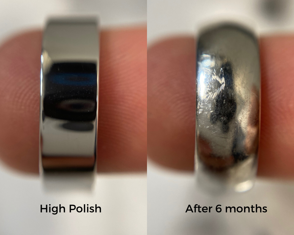 New Ring vs. Patina