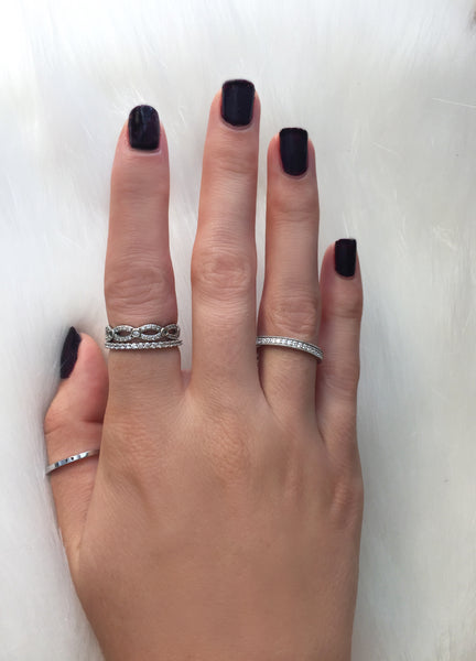 Soha Diamond Co. stackable rings