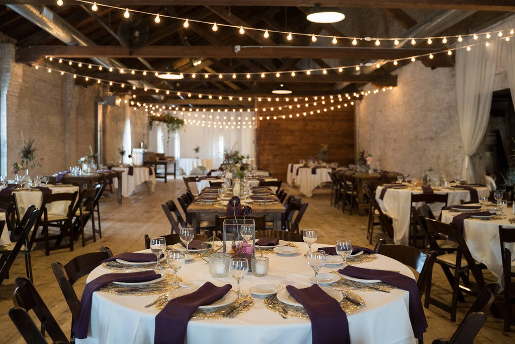 The lageret interior wedding reception