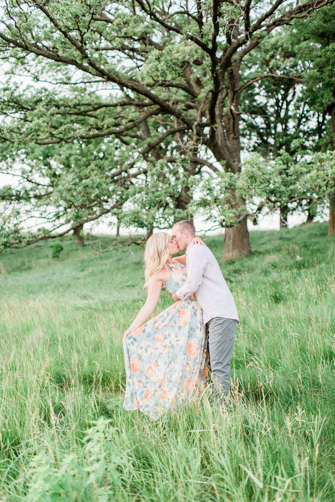 Pope farm conservancy summer engagement photo
