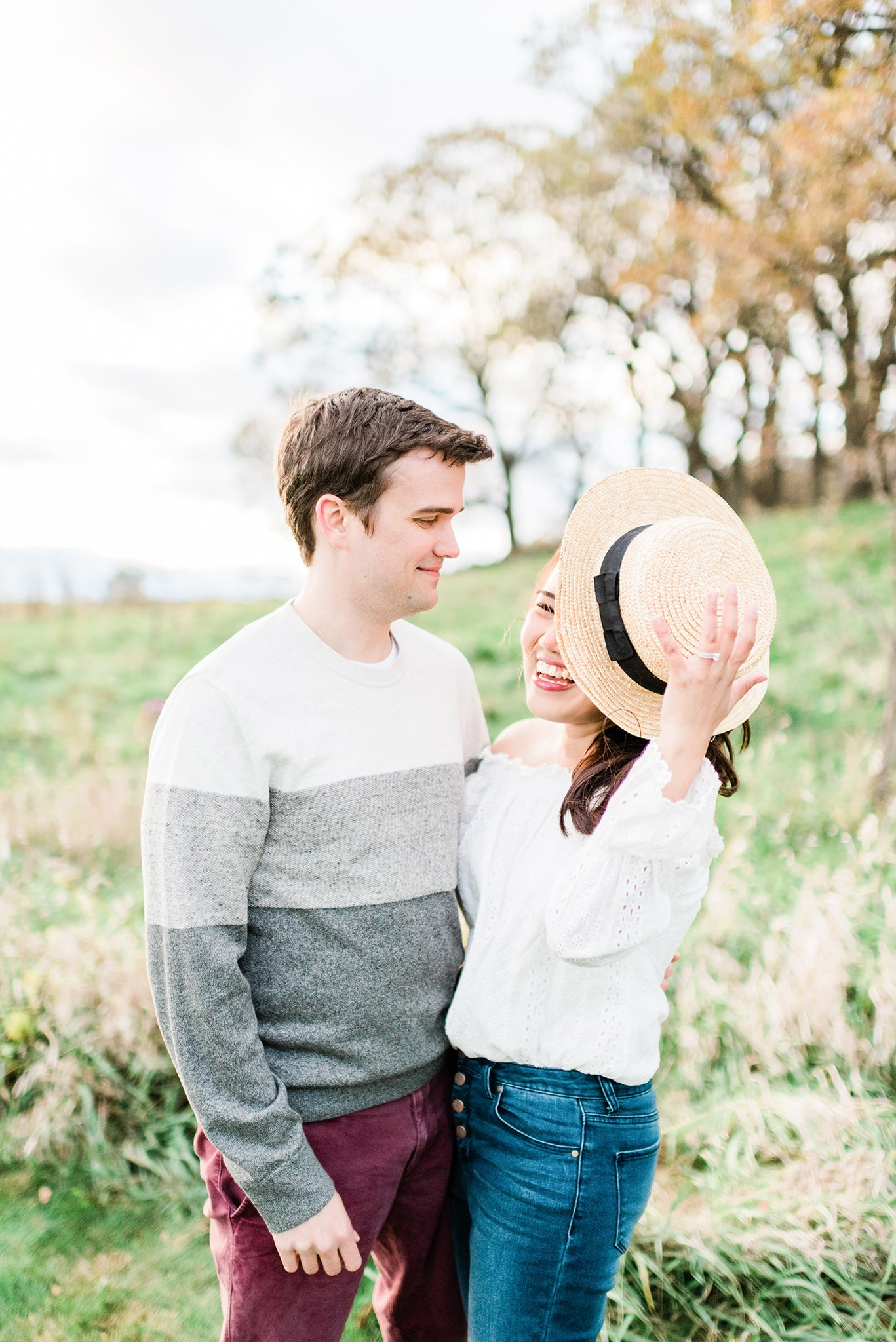 Larissa marie photography pope farm engagement photo